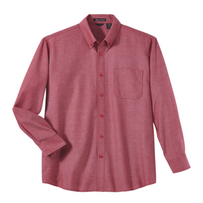 River's End 526 Men's Yarn Dyed Chambray Long Sleeve Shrit