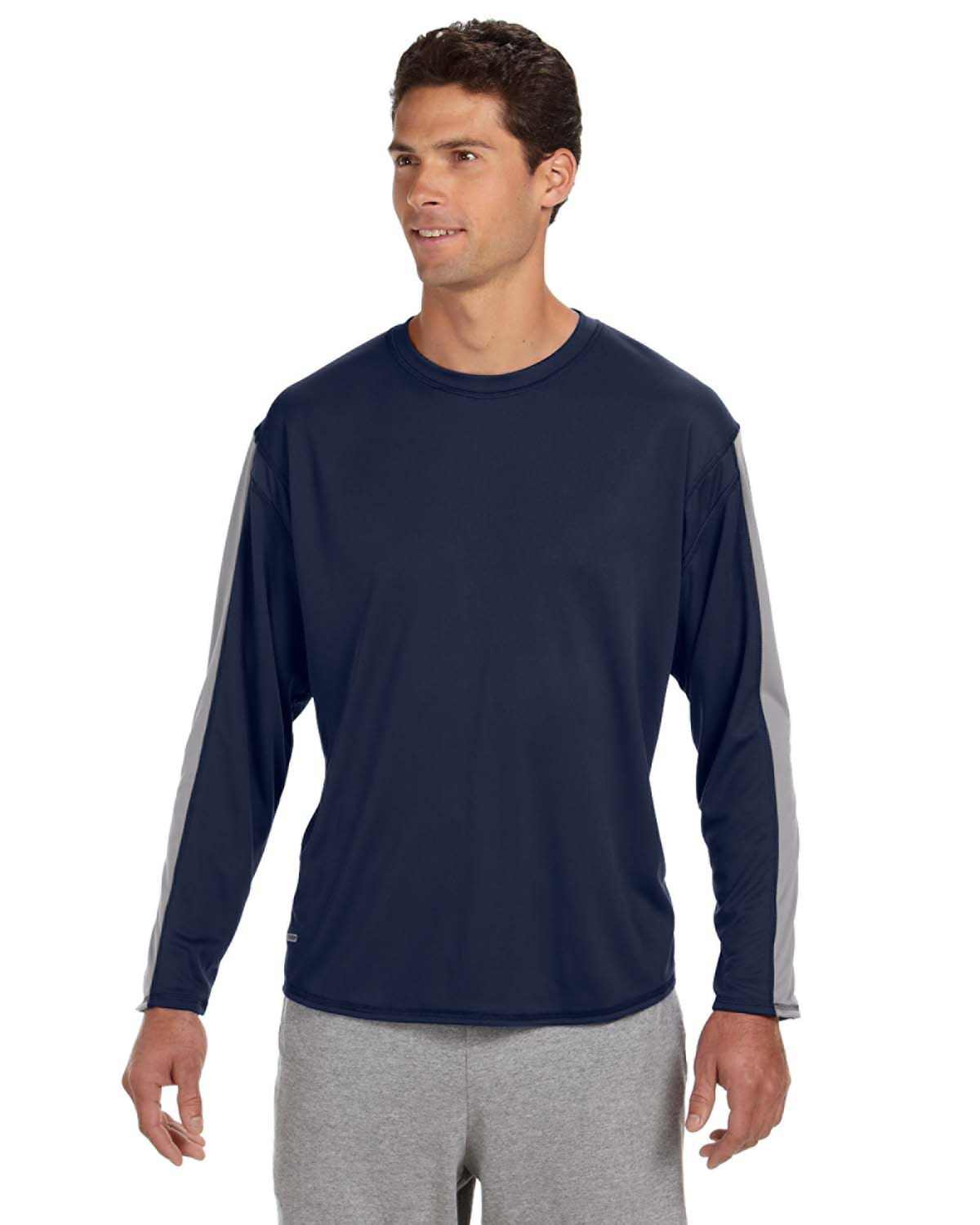 Russell Athletic 6B5DPM - Long-Sleeve Performance T-Shirt