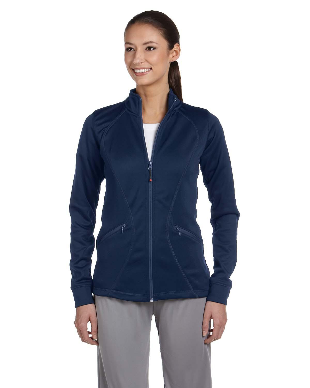 Russell Athletic FS7EFX - Ladies' Tech Fleece Full-Zip Cadet