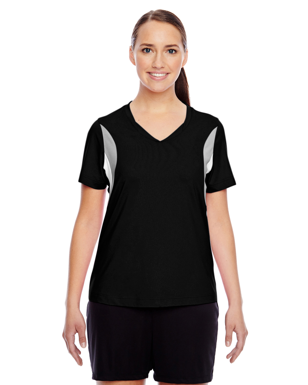 Team 365 TT10W - Ladies' Short-Sleeve V-Neck All Sport ...