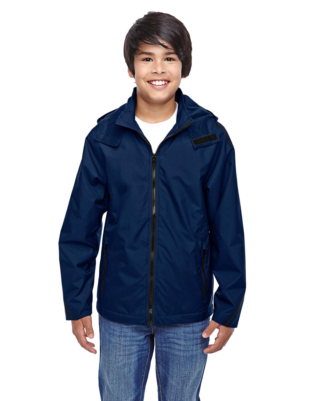 Team 365 TT72Y - Conquest Jacket with Fleece Lining