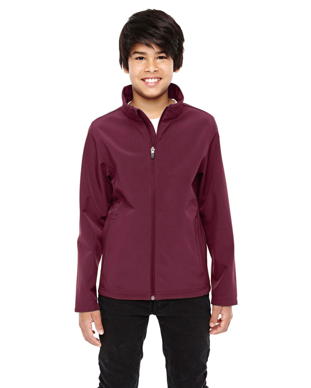 Team 365 TT80Y - Youth Leader Soft Shell Jacket