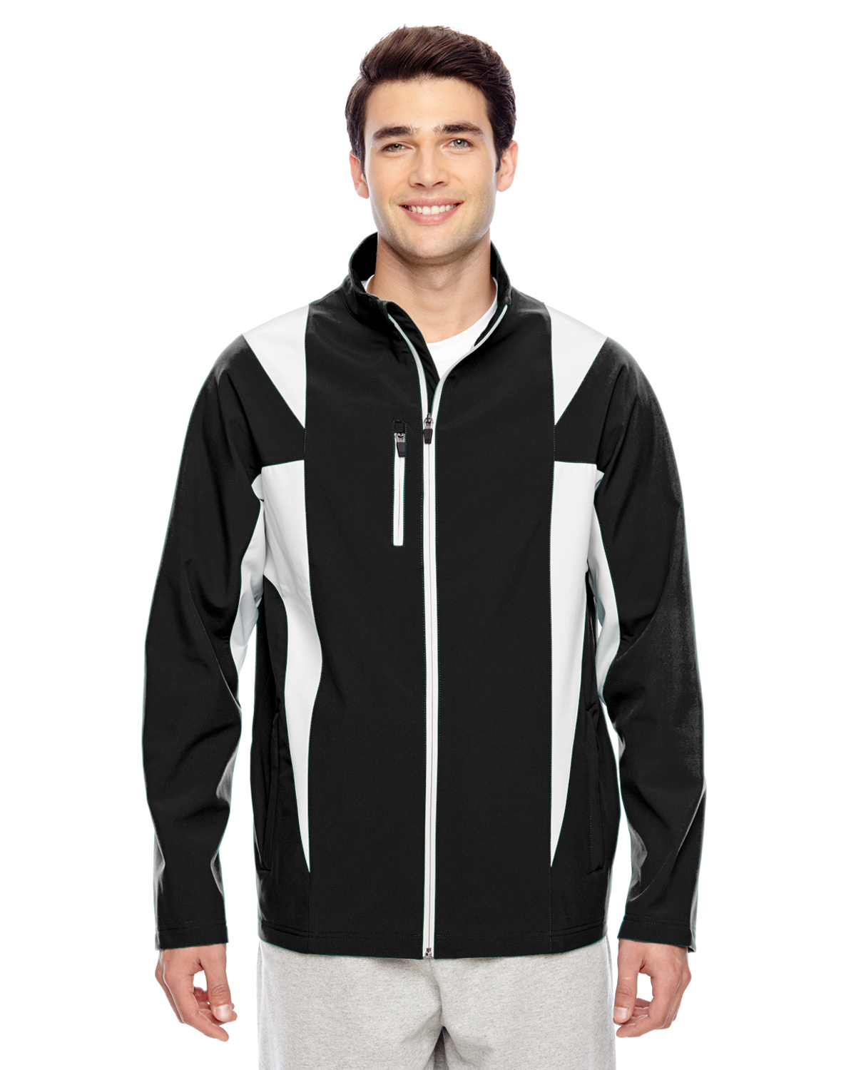 Team 365 TT82 - Men's Icon Colorblock Soft Shell Jacket