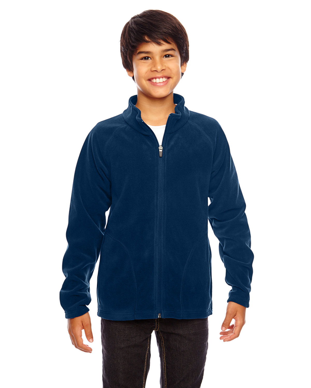Team 365 TT90Y - Youth Campus Microfleece Jacket