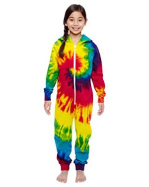 Tie-Dye CD892Y - Youth All-In-One Loungewear