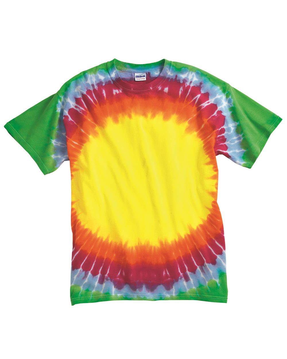 Tie-Dyed 200BE - Bullseye Tie Dye T Shirt