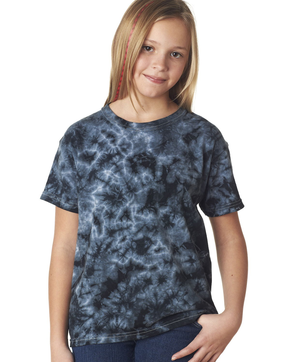 Tie-Dyed 20BCR - Youth Crystals T-Shirt