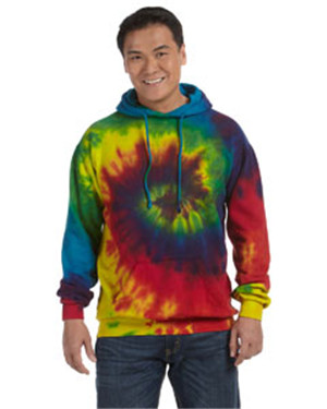 Tie-Dyed CD877 - 8.5 oz. Tie-Dyed Pullover Hood