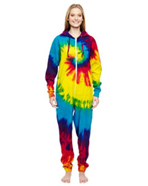 Tie-Dyed CD892 - All-In-One Loungewear