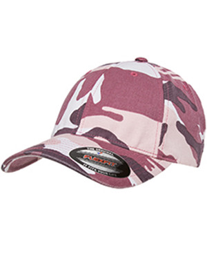 Flexfit 6977CA - Adult Cotton Camouflage Cap