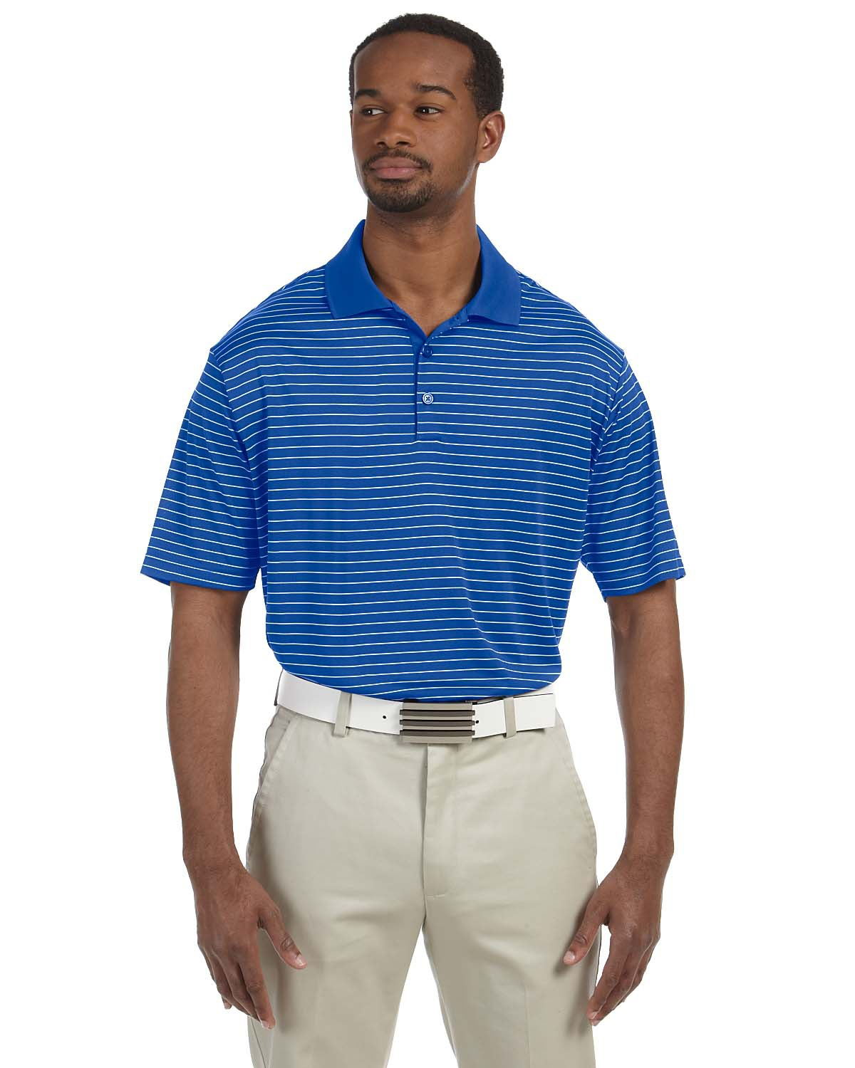 adidas Golf A160 - ClimaLite Pencil Striped Polo