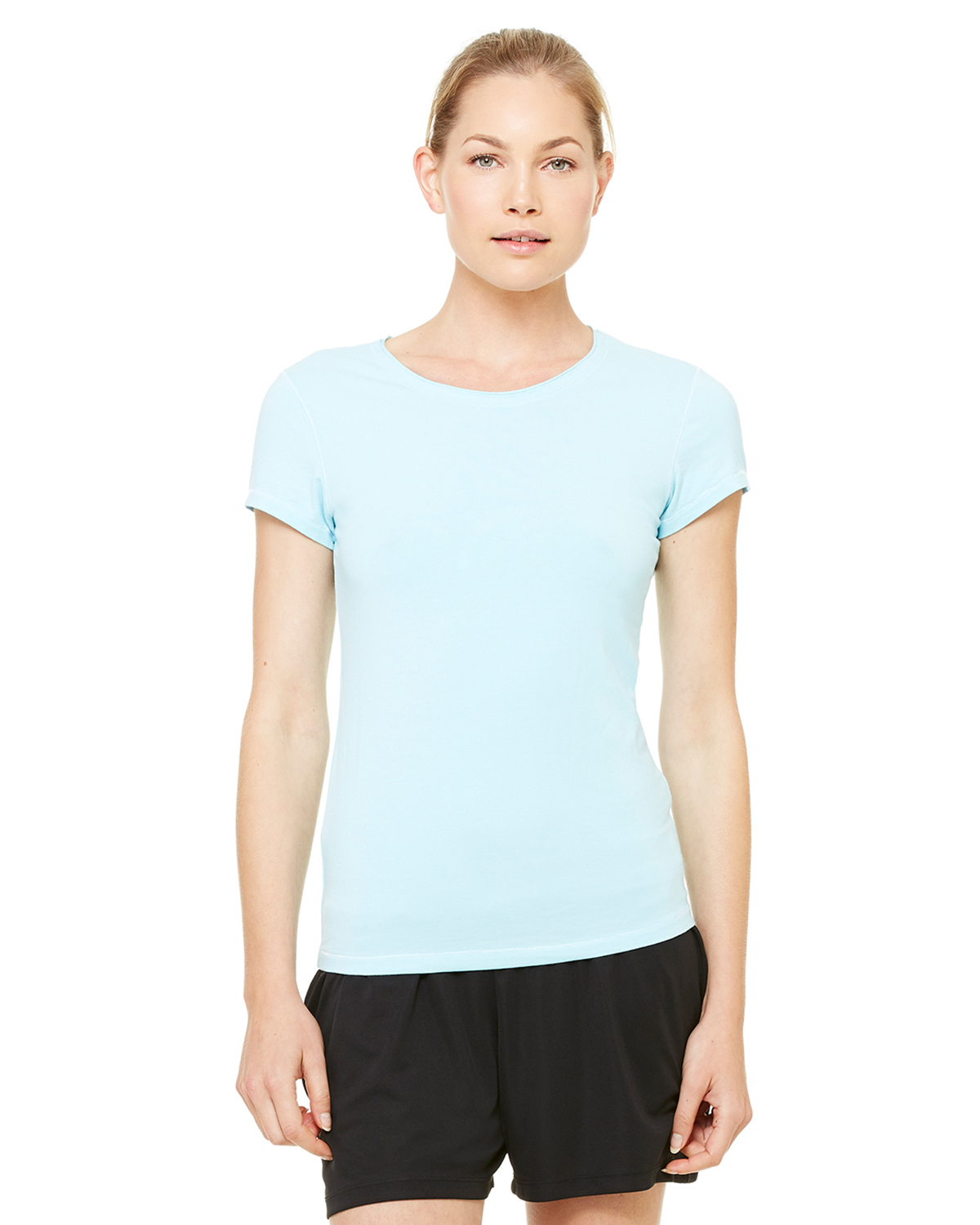 alo W1004 Ladies' Short Sleeve Bamboo T-Shirt