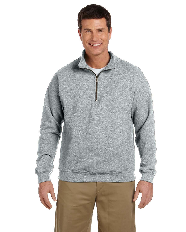 Gildan-Heavy Blend Quarter-Zip Cadet Collar Sweatshirt-18800