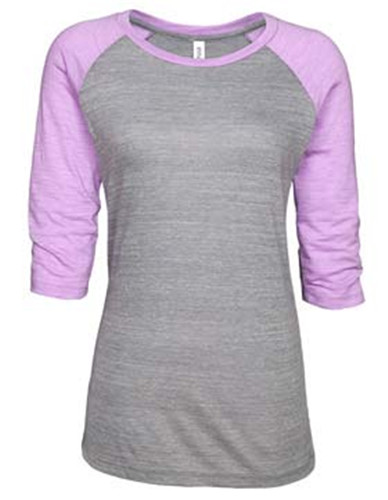 click to view Athletic Heather/hot violet