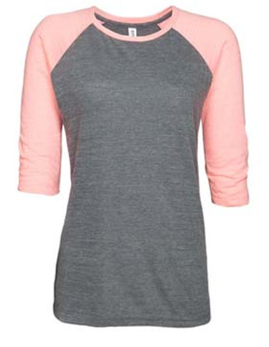 click to view Dark Heather/coral