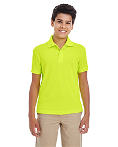 Ash city 88181y youth origin performance pique polo 9 for Youth performance polo shirts