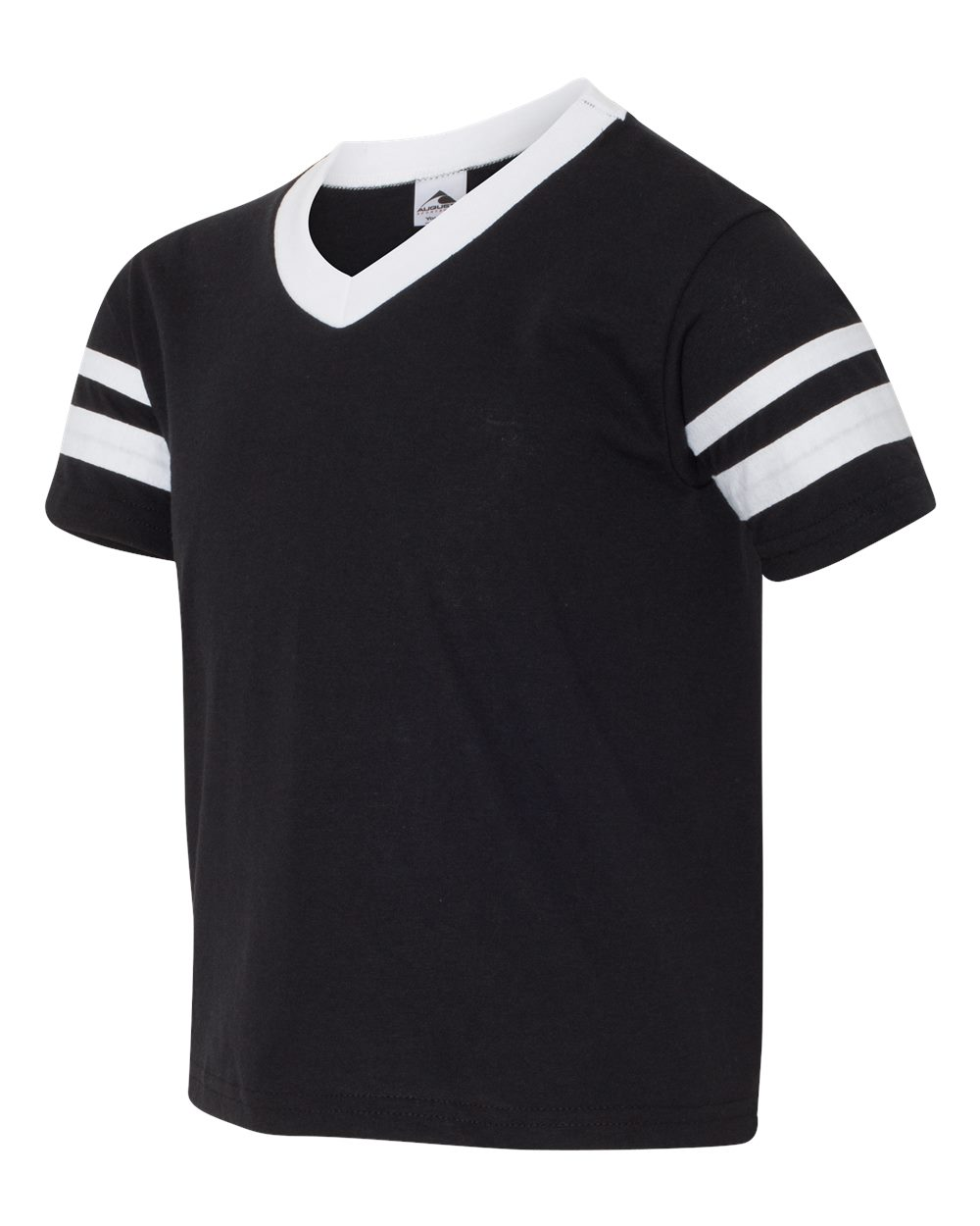 76636477c321e2 Augusta Sportswear 361 - Youth V-Neck Jersey with Striped Sleeves ...