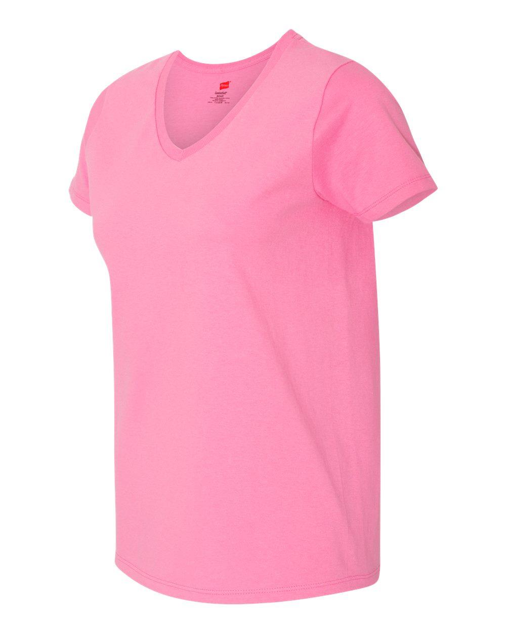 Hanes 5780 Women 39 S Tagless V Neck T Shirt Women