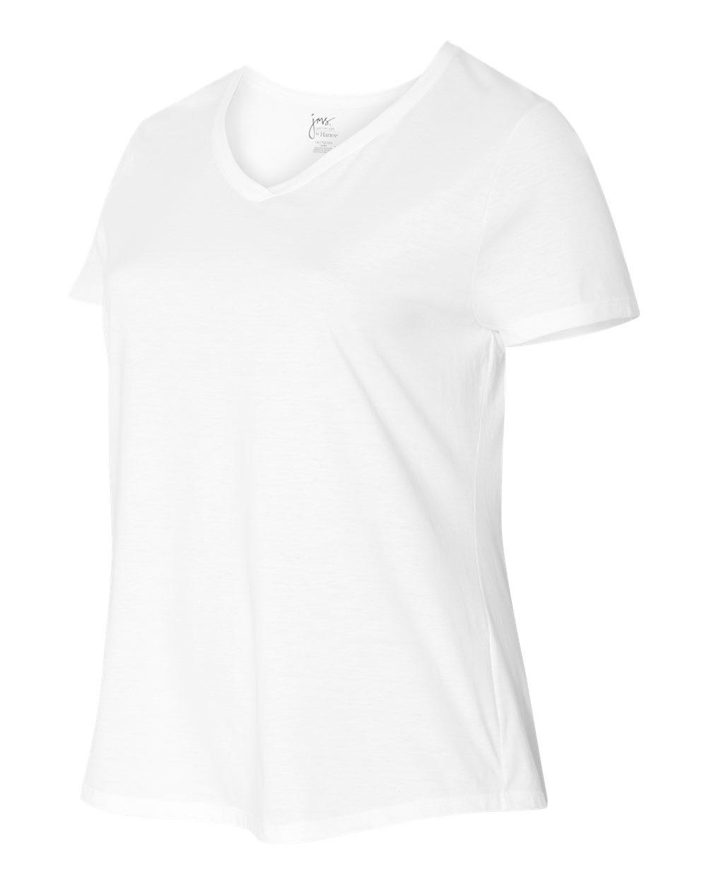 74af02e7322 Hanes JMS30 - Just My Size Women s Short Sleeve V-Neck Tee  6.68 ...