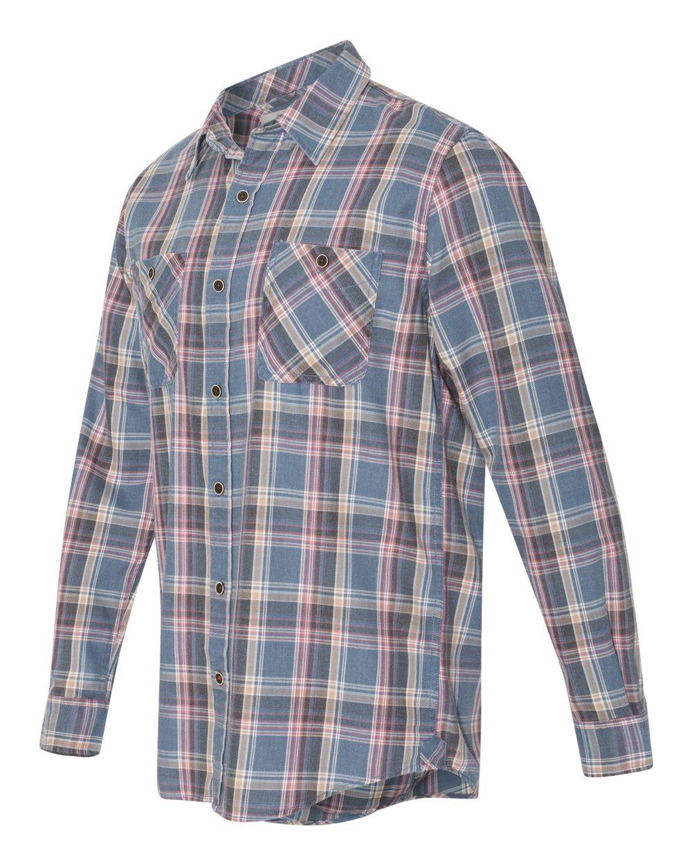 Weatherproof 178573 vintage burnout flannel men for Weatherproof vintage men s lightweight flannel shirt