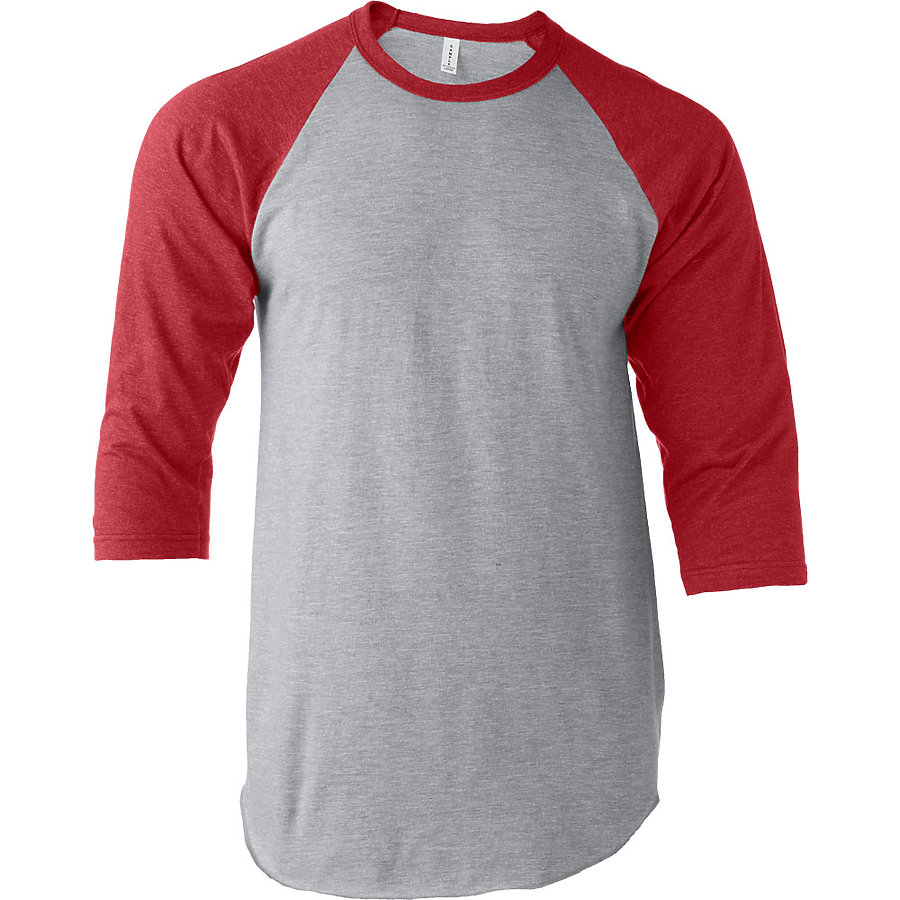 click to view Heather Grey/Heather Red