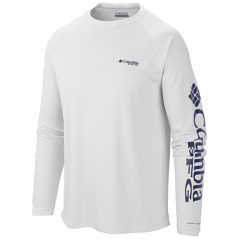 76702ede954 Columbia 1388261 - Men's PFG Terminal Tackle Long-Sleeve Shirt ...