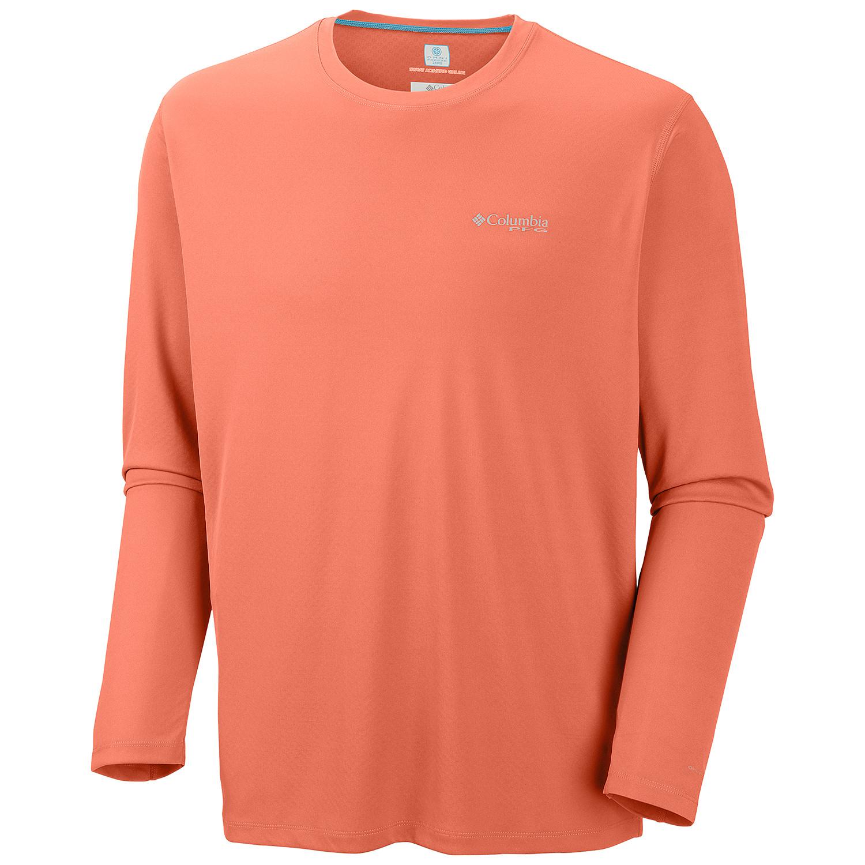 Columbia 1536111 - Men's PFG Zero Rules™ Long Sleeve Shirt $38.61 ...