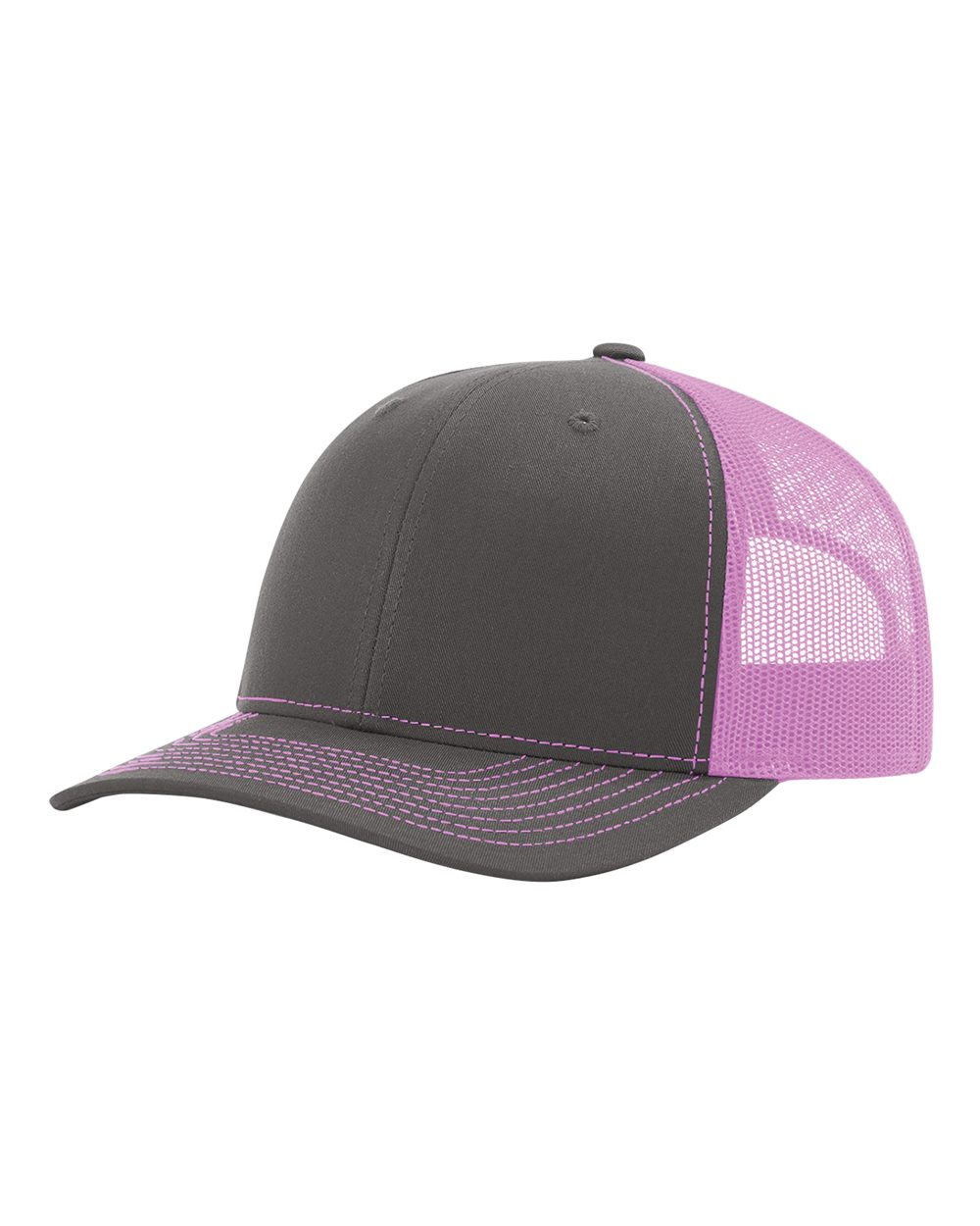 click to view Charcoal/ Neon Pink