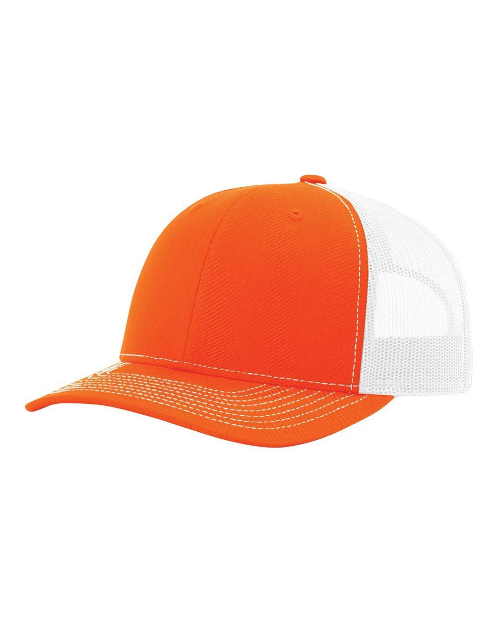 click to view Orange/ White