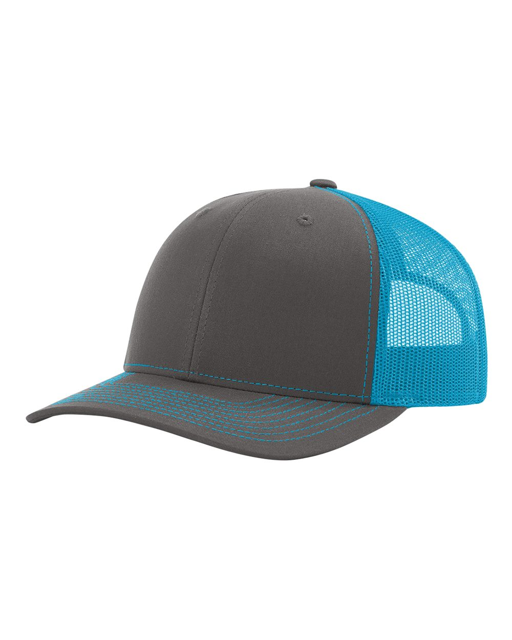 click to view Charcoal/ Neon Blue
