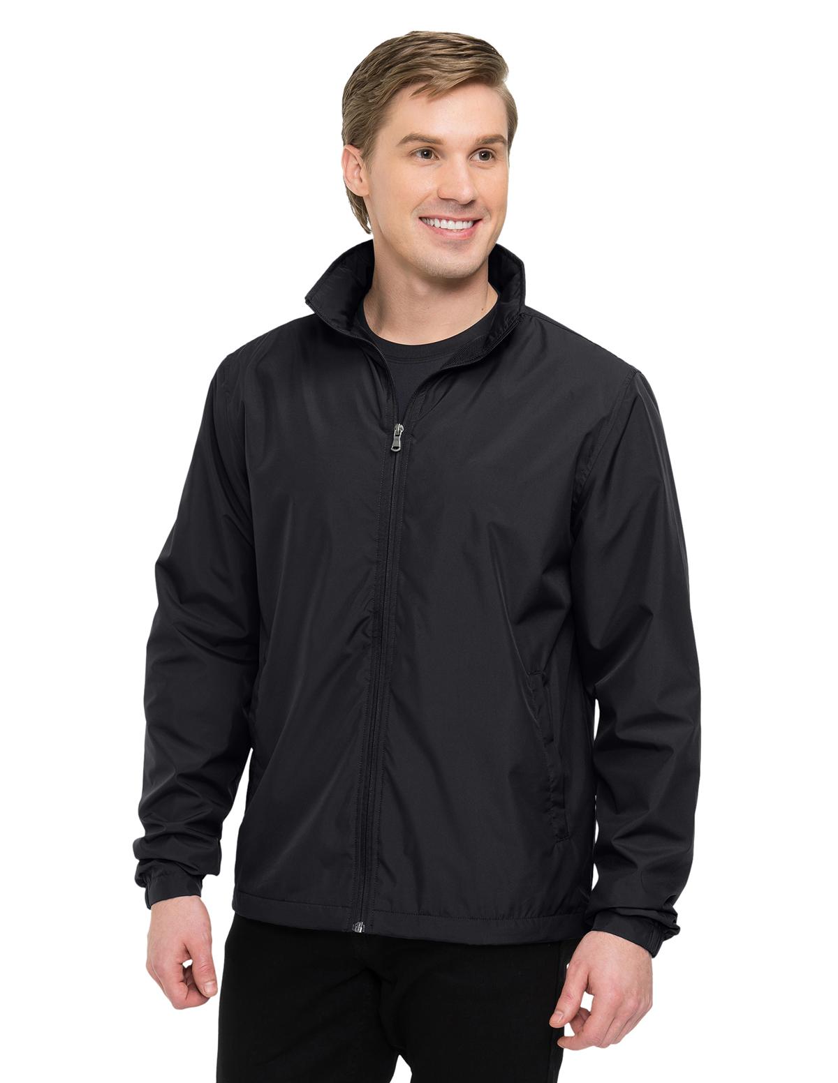 Tri-Mountain J1400 - Vital LWJ Men's 100% Polyester Lightweight Jacket  $20.79 - Men's Outerwear