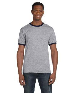 click to view HEATHER GREY/NVY