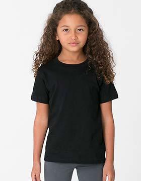 American Apparel 2105w Kids Fine Jersey T Shirt