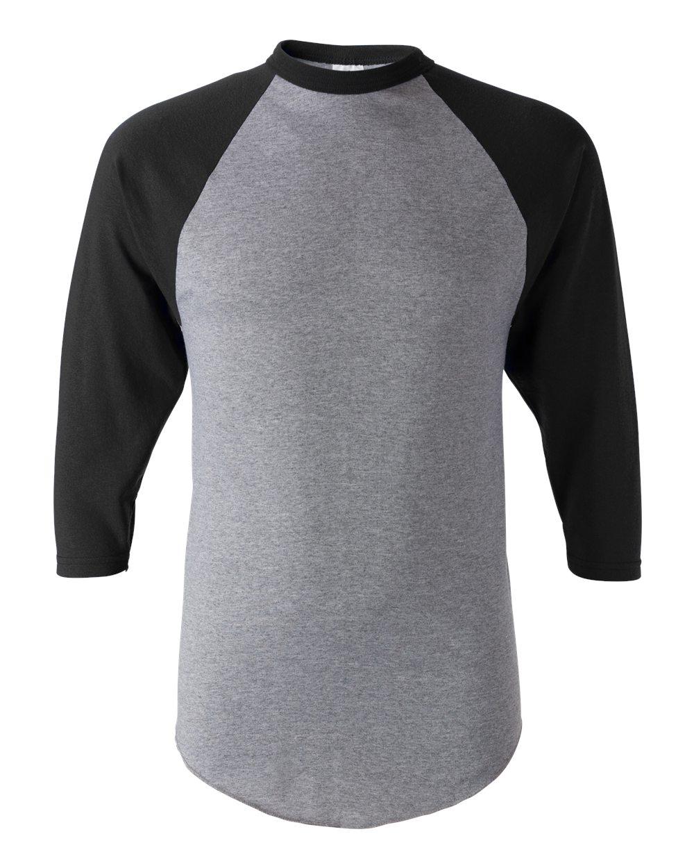 the best attitude 22242 06f48 Augusta Sportswear 4420 - Men's Three-Quarter Sleeve Baseball Jersey