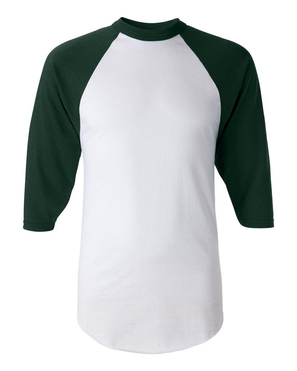 the best attitude b5af2 b1c0a Augusta Sportswear 4420 - Men's Three-Quarter Sleeve Baseball Jersey