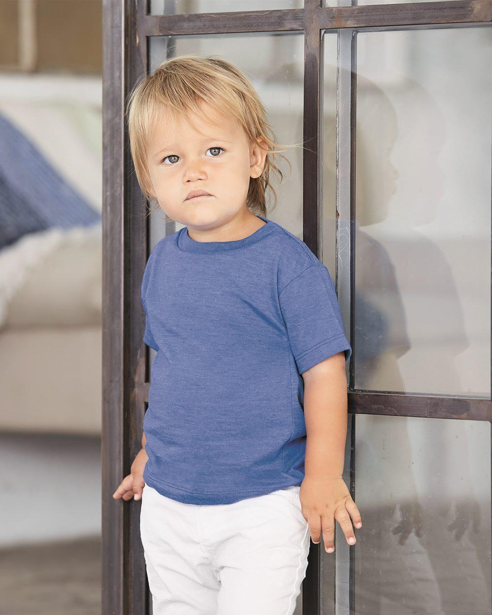 22aaebaa Bella + Canvas 3001T - Toddler Short Sleeve Tee $3.45 - Infants ...