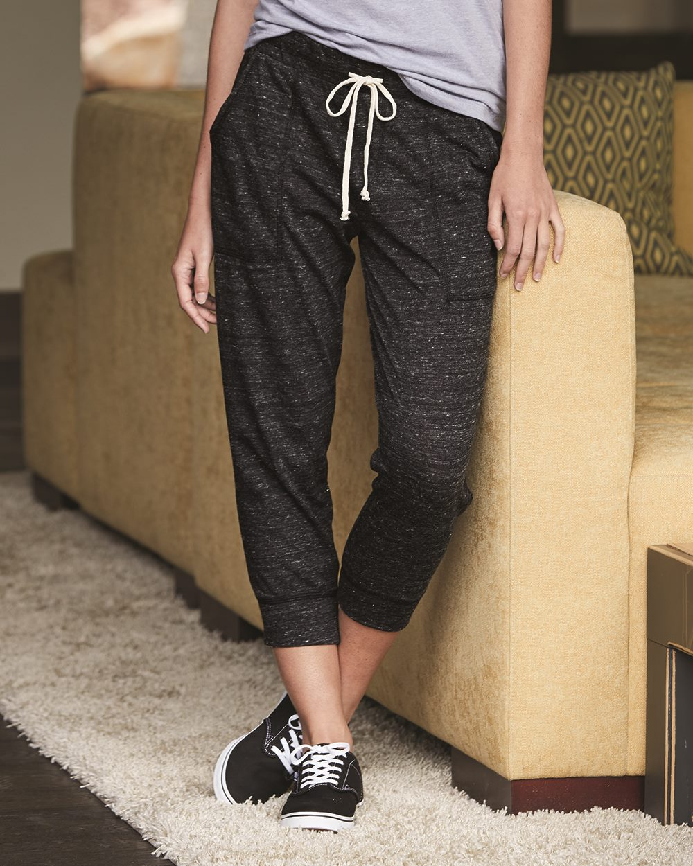 cheap buy best shades of Alternative 2900 - Women's Eco-Jersey Cropped Jogger