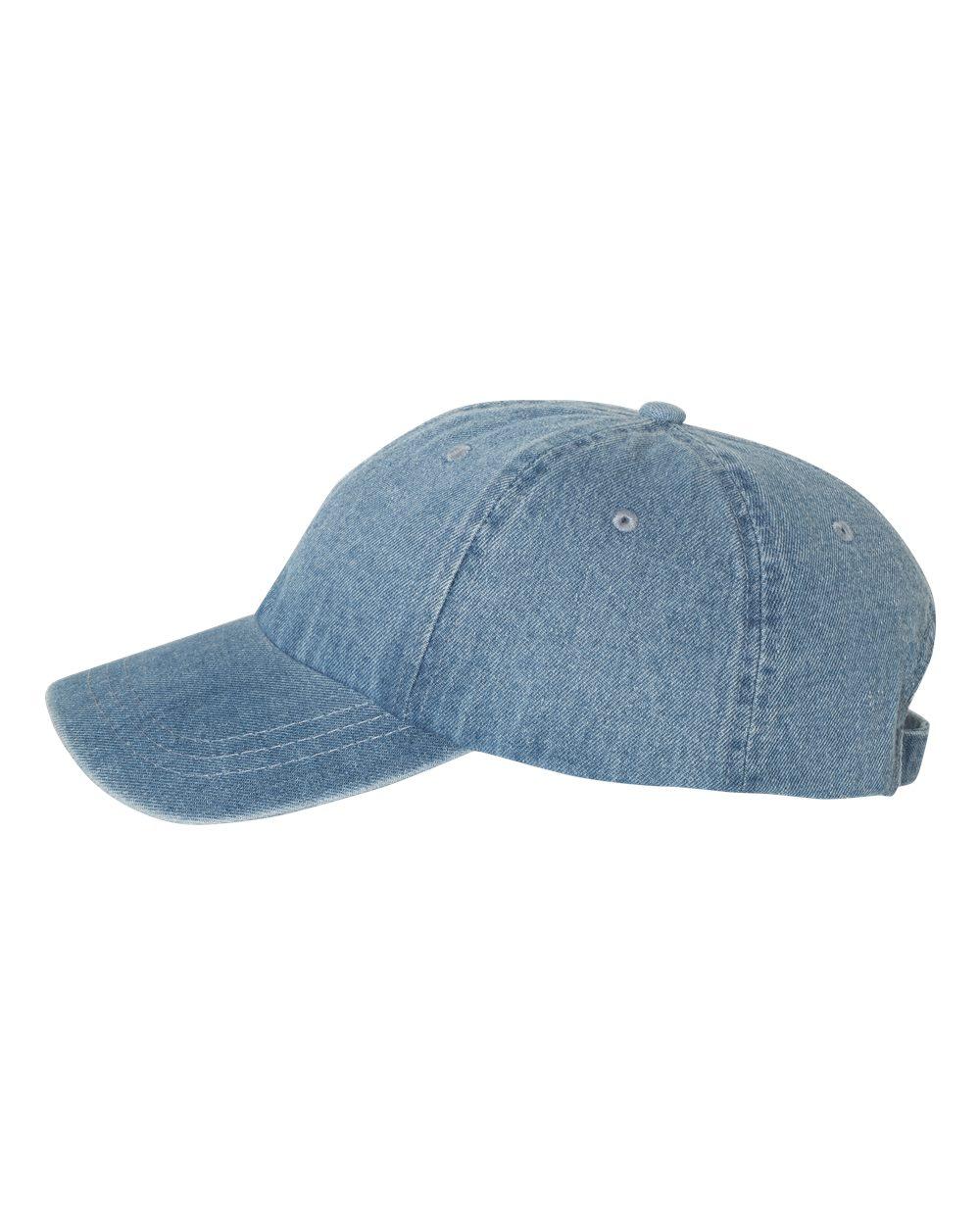 Mega Cap 7610 - Washed Denim Cap  3.88 - Headwear 38287da0dc0