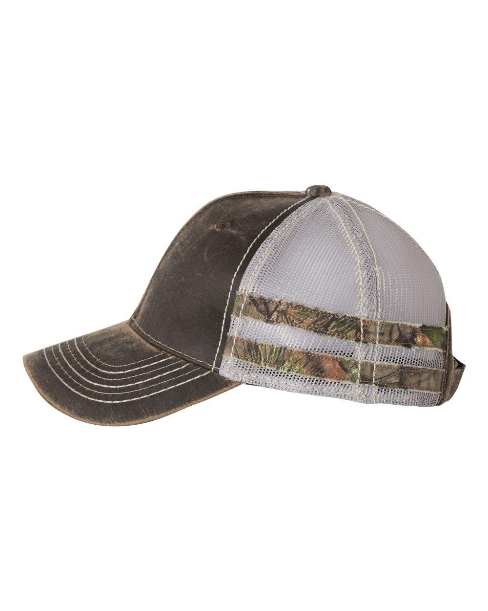 781d697081d Outdoor Cap HPC400M - Frayed Camo Stripes Cap  6.25 - Headwear