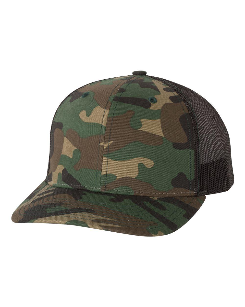 2a4f3016672a8 Richardson 112P - Patterned Snapback Trucker Cap  6.00 - Headwear