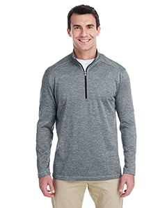 click to view Mid Grey Heather/ Black