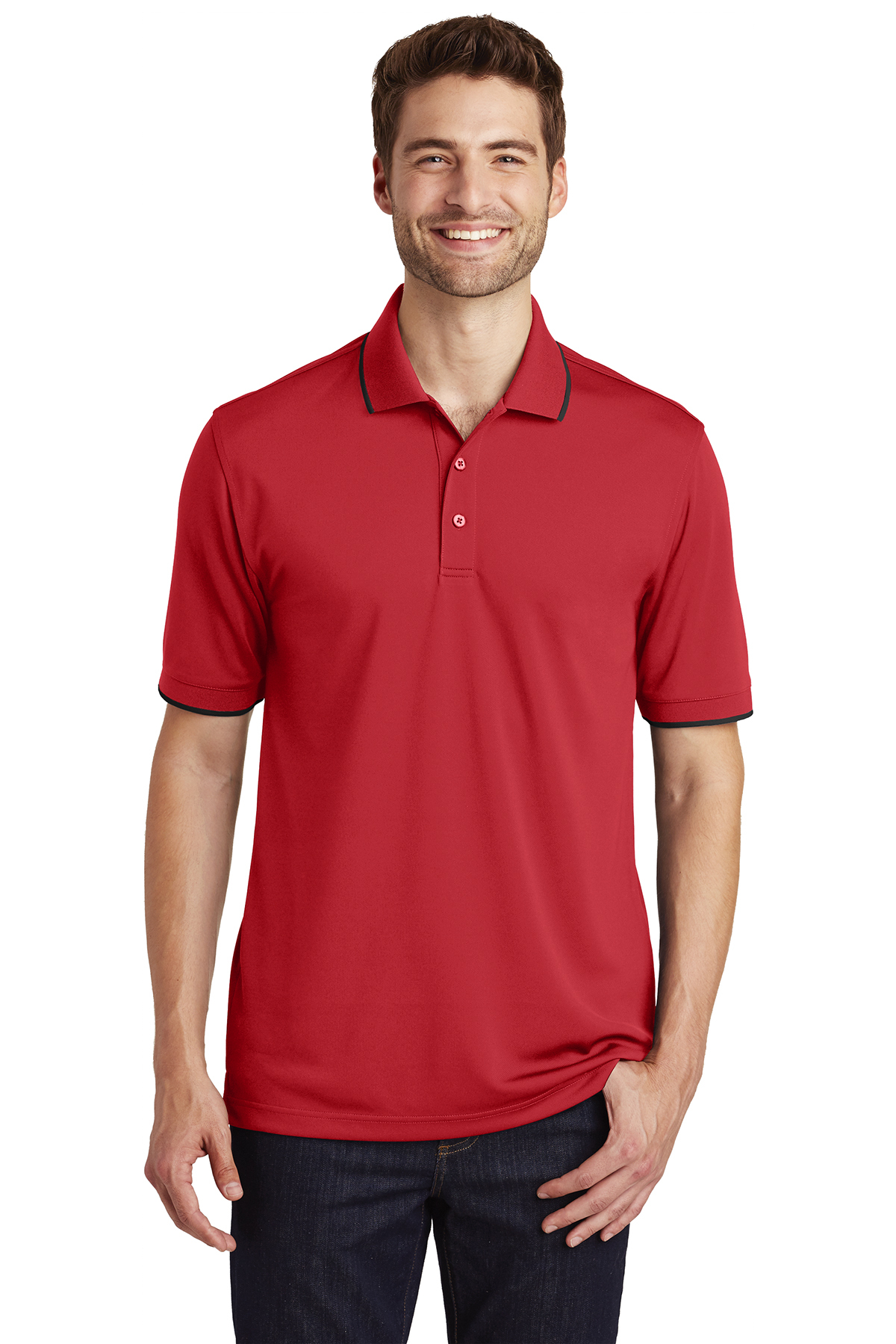 click to view Rich Red/ Deep Black
