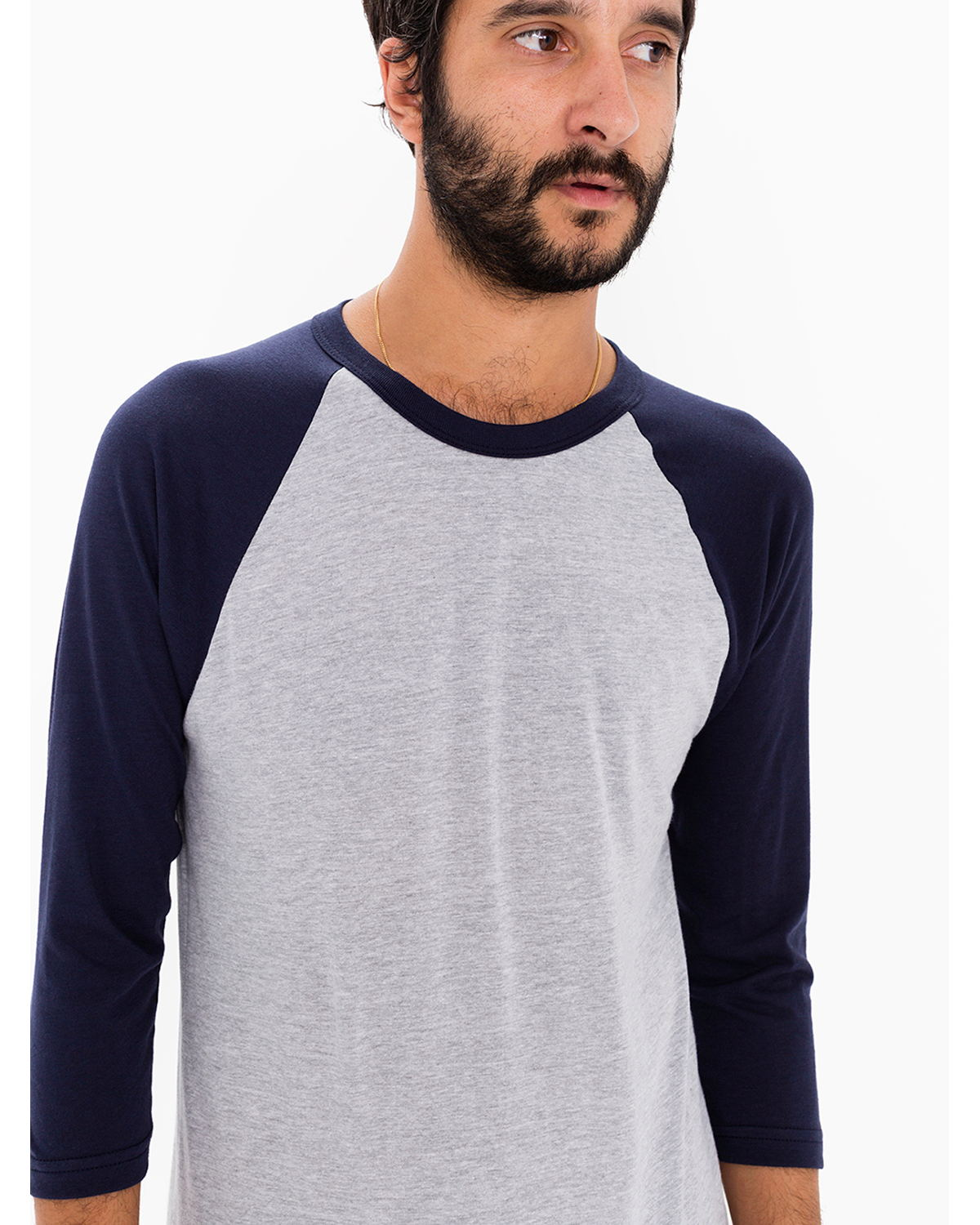 click to view Hthr Grey/ Navy