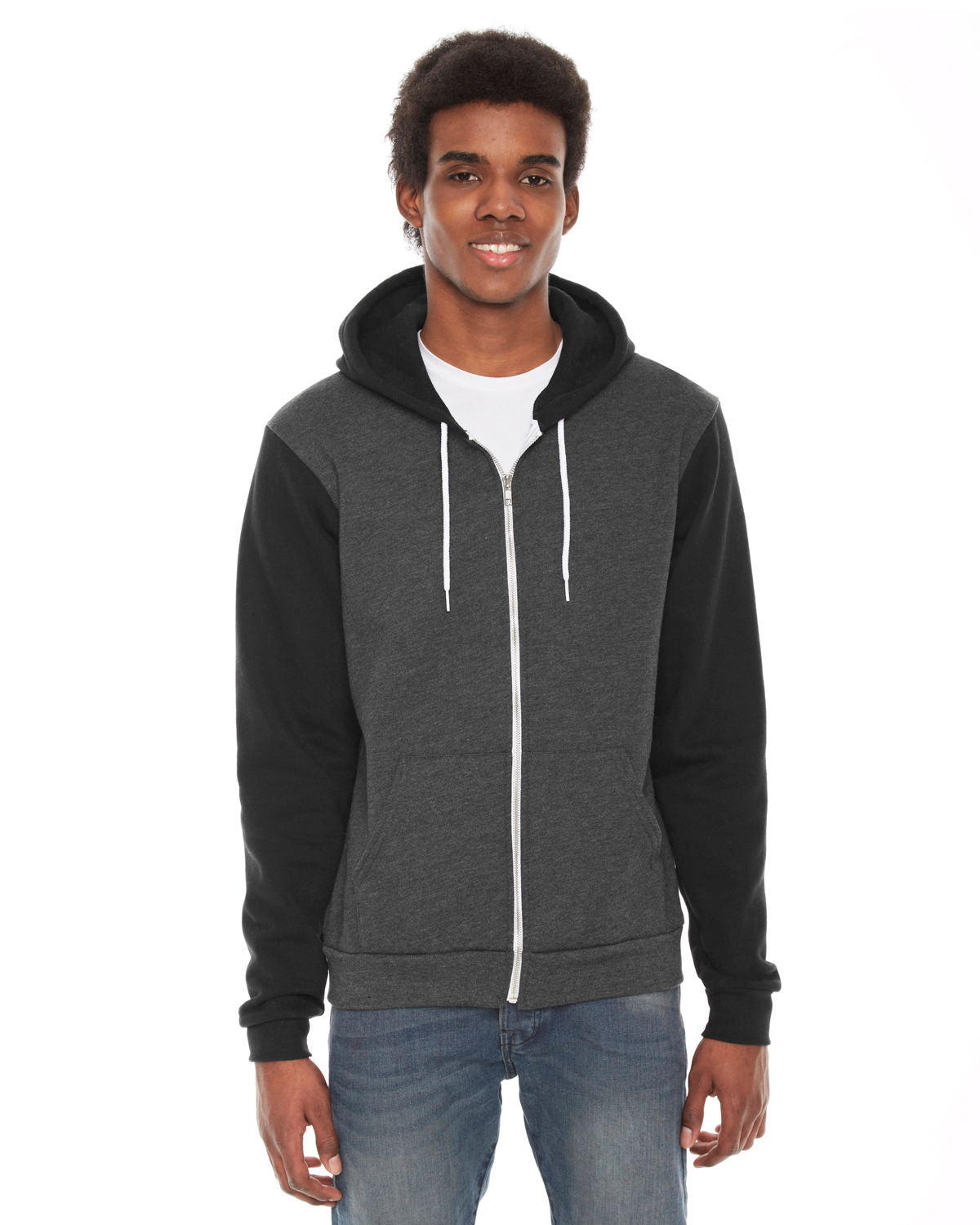 click to view Dk Hth Gry/ Blk