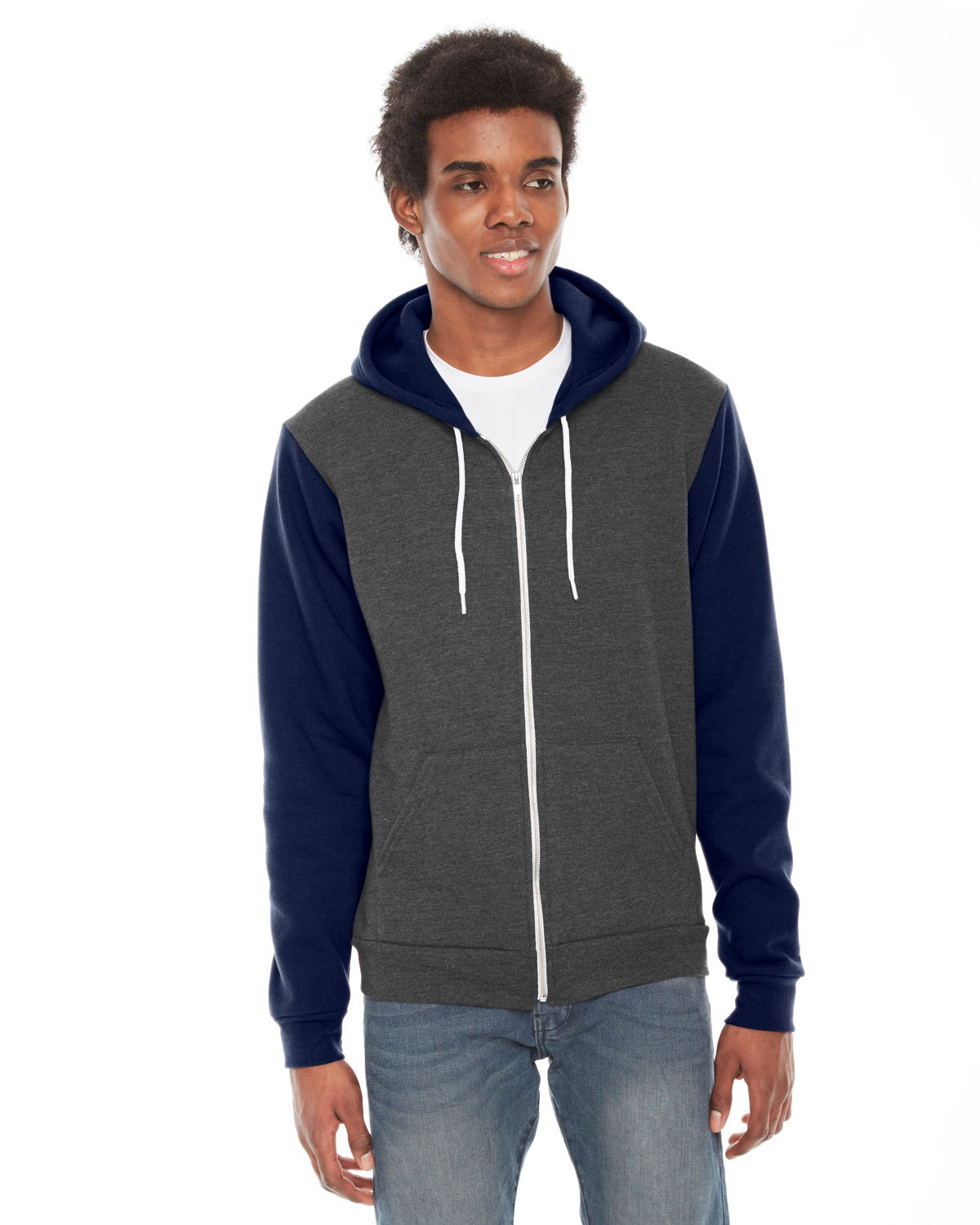 click to view Dk Hth Gry/ Navy