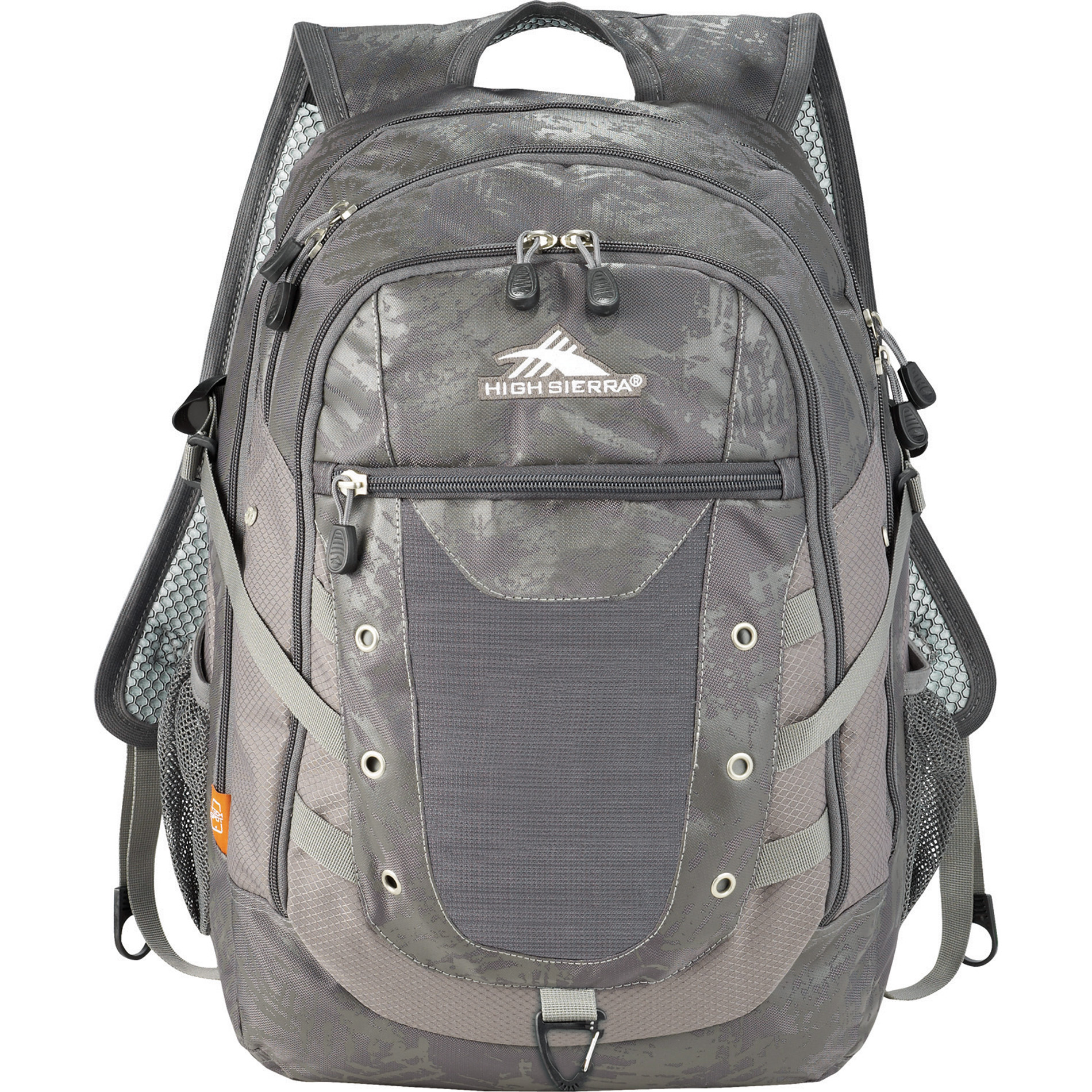 Silver High Sierra Tactic 17 Computer Backpack