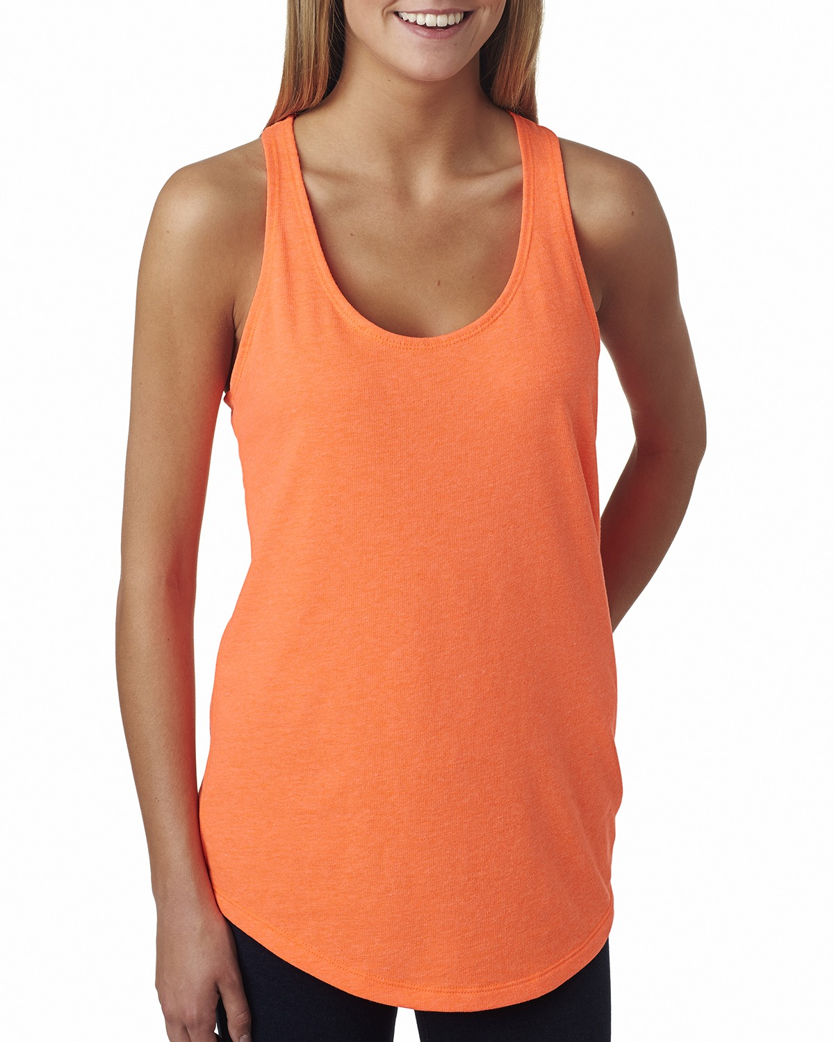 click to view Neon Heather Orange