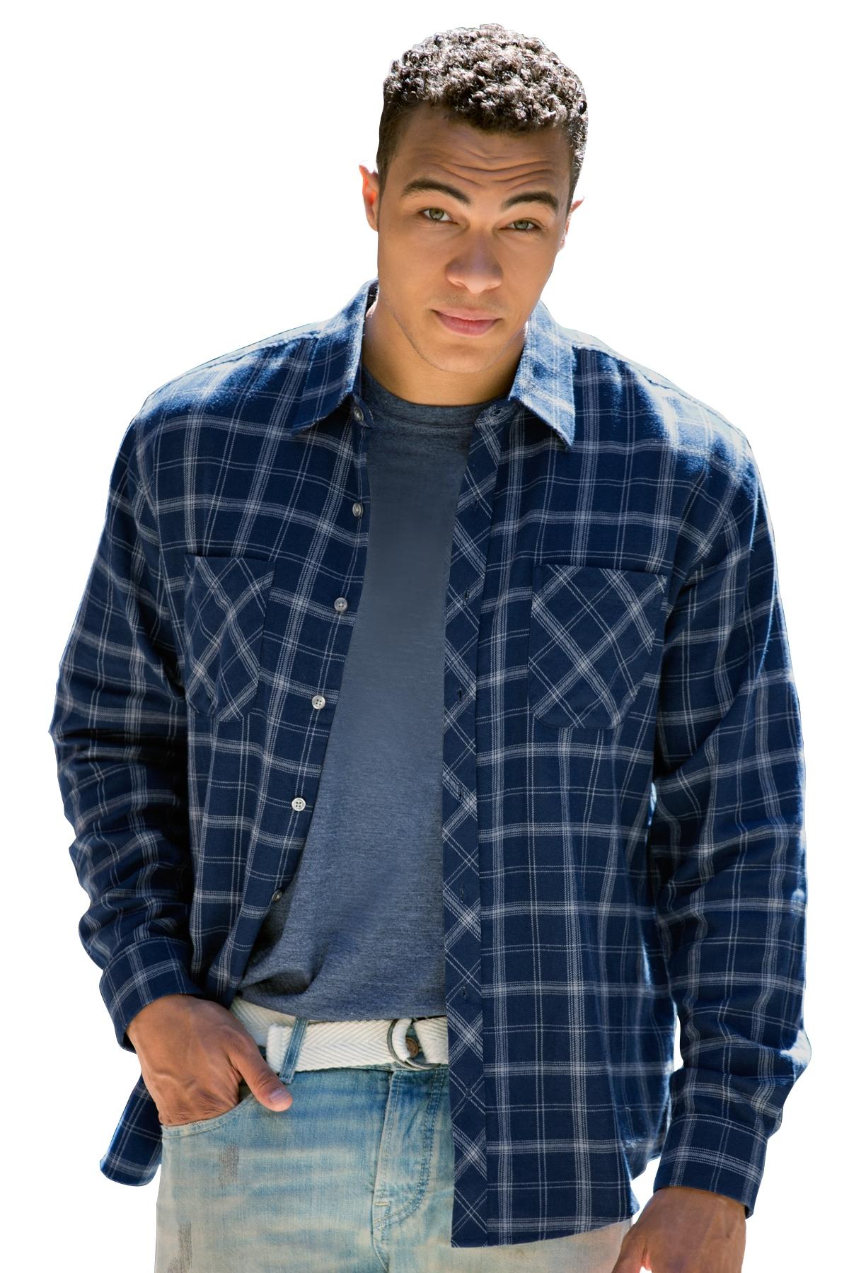 Vantage 1979 Mens Brewer Flannel Shirt 2561 Mens Woven Shirts