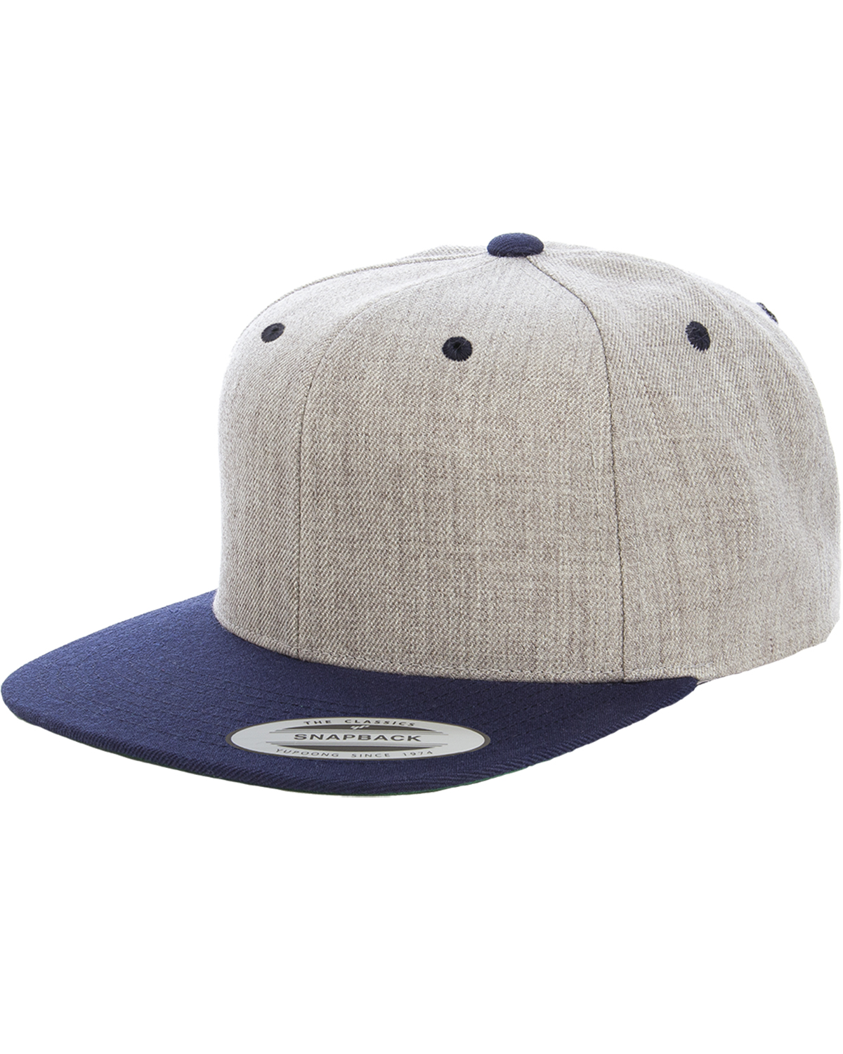 click to view Heather/Navy