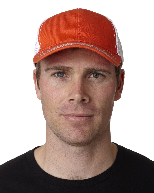 click to view Orange/White
